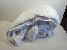 Malouf Woven White Down Alternative Microfiber Comforter with Corner Tabs
