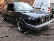 1989 GOLF GTI MK2 8V PROJECT SPARES OR REPAIRS SHELL ROYAL BLUE 3 DOOR