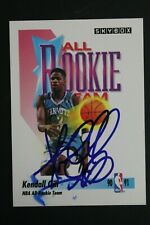 Kendall Gill Hornets Signed 1991 Skybox #321 All Rookie Autographed NBA Card