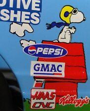 Pedal Car Snoopy Peanuts Chevy Hot Rod Race Sport Monte Carlo Metal Midget Model