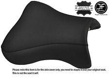 DESIGN 2 BLACK VINYL CUSTOM FITS KAWASAKI ZX9R 98-02 FRONT SEAT COVER