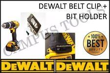 Dewalt belt hook clip and bit holder & screws 18V 10.8v Impact Drill Driver XR**