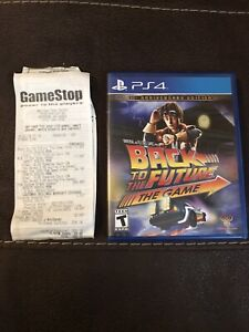 Back to the Future: The Game (Sony PlayStation 4 PS4, 2015) COMPLETE CIB Tested!