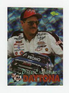Dale Earnhardt Sr 1996 96 Classic Race Chase Daytona Promo Foil Insert Card HP96