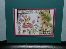 Amy Brown - Secrets - Matted Mini Print -Signed - Rare