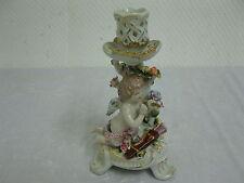LUXE PORCELAINE chandelier objet décoratif candélabre 21cm Bougeoir ange