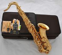 Professional Gold TAISHAN Tenor Saxophone Sax Bb Saxofon High F# +Case Brand New