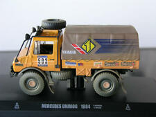 MERCEDES UNIMOG 4x4 Rallye Paris Dakar 1984 Bonera Raid IXO Norev Atlas 1:43