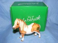 John Beswick Shetland Pony Skewbald Horse JBH47 Figurine New Boxed Present Gift