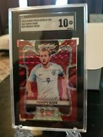 2018 Panini Prizm World Cup Harry Kane Red Mosaic Gem Mint 10 💎🔥