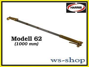 Handschneidbrenner Harris Modell 62 (1000 mm) Schrottbrenner Schneidbrenner NEU