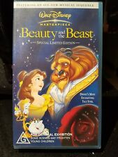Disney Beauty And The Beast VHS Tape Children's Video