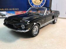 1/24 Franklin Mint Black 1968 Shelby GT500KR B11E241 Shelby Signed Autographed