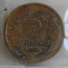 2 francs morlon 1938 : B : pièce de monnaie française