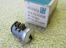 * NOS 1964-67 Chevy Chevelle Camaro Nova SS Z28 Floor Console Lock GM 7645835