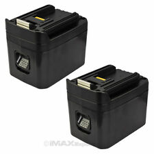 2 x 24V 3200mAh 3.2AH NI-MH Slide Style Battery for MAKITA BH2420 BH2430 BH2433