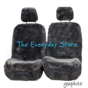Premium Sheepskin Seat Covers For MG MG6 PLUS All Models Pair Airbag Safe 30MM