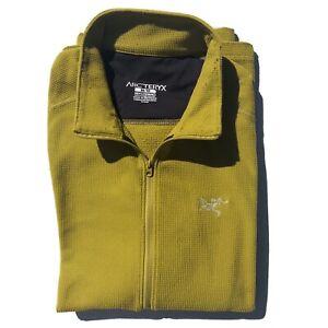 Arc'teryx Delta LT Zip-Neck Fleece Pullover - Men Medium #17584
