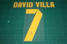 Barcelona 12/13 #7 DAVID VILLA Homekit Nameset Printing
