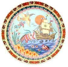 Hand decorated Sindbad der Seefahrer Barbara Furstenhofer plate CP1903