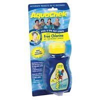 AquaChek Chlorine Pool & Spa Test Strips (50 Ct)