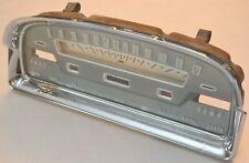 1959 Ford Fairlane Galaxie Speedometer Odometer Gauge with Bezel - Original OEM