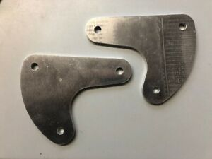 Rix Engineering Pair of Alloy Sump Guard Side Mount Plates