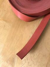 "High Temp 5/8"" Wide x 1/16"" Thick Red Silicone Rubber Strip SOLD BY THE FOOT"