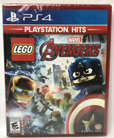 LEGO Marvel Avengers. Brand New.  PS4 Game PlayStation 4. Free shipping!!