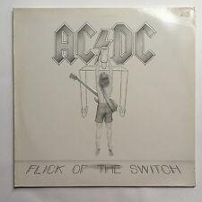 AC/DC - FLICK OF THE SWITCH * VINYL LP * FREE P&P UK * ATLANTIC - 78-0100-1  1A