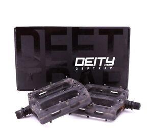 Deity Deftrap Mountain Bike Platform Pedals Black