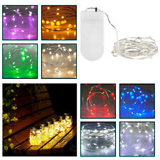 String Fairy Lights Battery Operated 20 LED Xmas Wedding Party Decorations