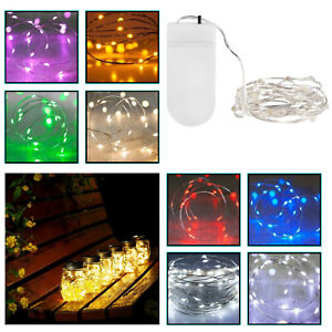 Battery Fairy String Lights Powered Christmas Birthday Party Wedding 20 LED