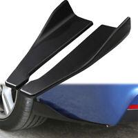 2* Car Accessories Bumper Spoiler Rear Lip Angle Splitter Diffuser Protector New