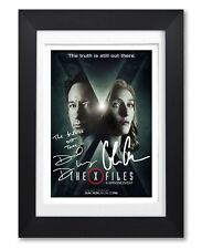 THE X-FILES CAST SIGNED POSTER TV SHOW SEASON SERIES PRINT PHOTO AUTOGRAPH GIFT