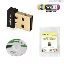 Tarjeta de red LAN inalámbrica Wi-Fi Adaptador Mini USB 150 Mbps 802.11 b/g/n N2