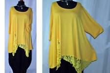 My Obsession- Superposition °° Zipfel- Tunique Jersey & Dentelle °° Jaune Soleil