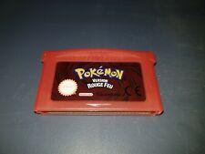 Nintendo Game Boy Advance GBA DS ;; POKEMON VERSION ROUGE FEU version Française