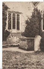 "Buckinghamshire Postcard - Gray's Tomb in ""County Churchyard"" Stoke Poges ZZ2758"