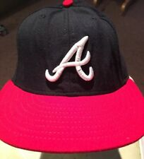 NEW ERA 59FIFTY CAP Atlanta Braves MLB AUTHENTIC FITTED HAT 7 3/8
