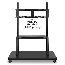 ViewSonic Rolling TV Trolley Cart Stand (no wall mont) SEE PICS