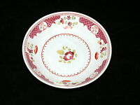 Antique English Pearlware Welled Rose Saucer Ca 1820