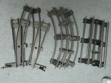 MECCANO HORNBY CLOCKWORK TIN TRAIN TRACK PIECES
