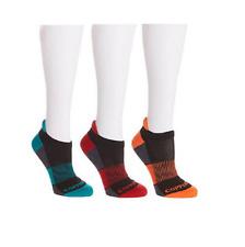 Copper Fit™ 3 Pair Unisex Color-Block Sport Performance Sock S/M