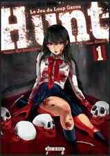 Manga Hunt Le jeu du Loup Garou Tome 1 Seinen Koudo Ryo Kawakami Soleil Horreur