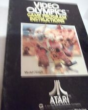 Vintage 1977 ATARI Computer System VIDEO OLYMPICS GAME INSTRUCTIONS RARE!