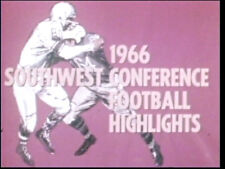 1966 Southwest Conference Football Highlights DVD Kern Tips 14 Games  FREE SHIP