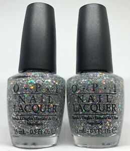 OPI Nail Polish ✨ SERVING UP SPARKLE S98 Multi Sizes Diamond Glitter Lacquer