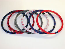 18 GXL HIGH TEMP AUTOMOTIVE WIRE 6 STRIPED COLORS 25 FEET EACH 150 FEET TOTAL