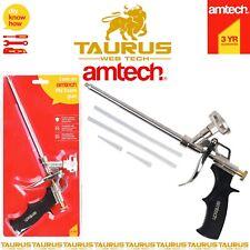AMTECH PU Foam Gun Aluminium Adjustable Flow Expanding Applicator Attachments UK